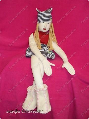 Это моя первая кукла Марфа Васильевна.С нее все и началось. фото 1