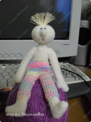 Это моя первая кукла Марфа Васильевна.С нее все и началось. фото 2