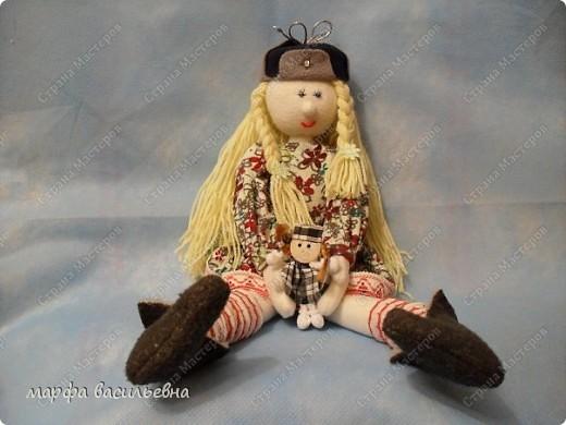 Это моя первая кукла Марфа Васильевна.С нее все и началось. фото 3