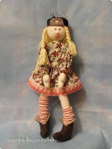 Это моя первая кукла Марфа Васильевна.С нее все и началось. фото 4