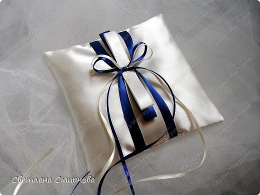Свадебные подушечки для обручальных колец фото 4