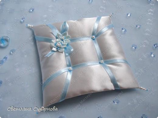 Свадебные подушечки для обручальных колец фото 3