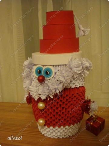 Поздравляю всех с праздниками! Вот такой Дед Мороз появился у нас. фото 2
