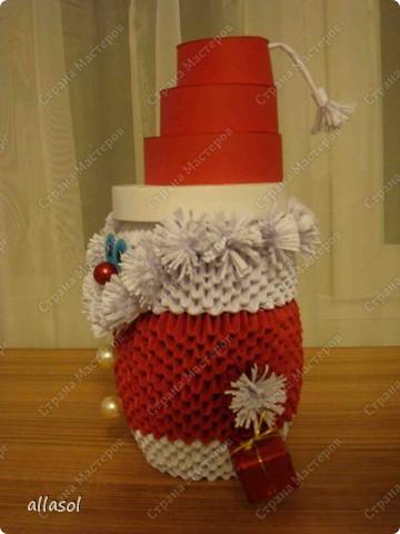 Поздравляю всех с праздниками! Вот такой Дед Мороз появился у нас. фото 3