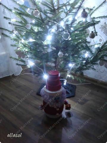 Поздравляю всех с праздниками! Вот такой Дед Мороз появился у нас. фото 9