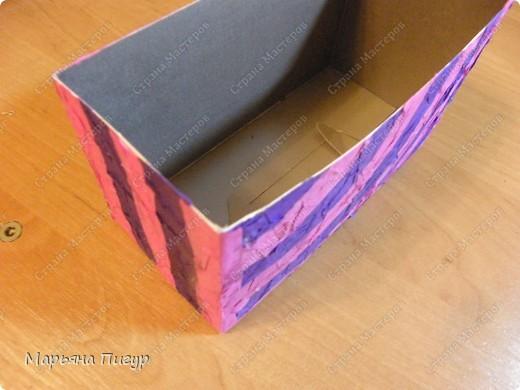 Вот такую коробочку я недавно сделала. фото 1