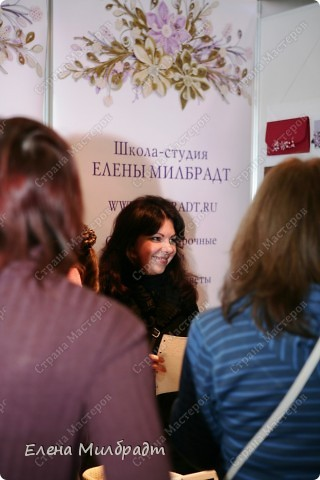 В Октябре 2010 года состоялась III Международная выставка-продажа «Формула Рукоделия», посвященная всем видам рукоделия, на которой я принимала участие совместно с моей замечательной учительницей и подругой, известным фитодизайнером Полиной Кузнецовой.  фото 2