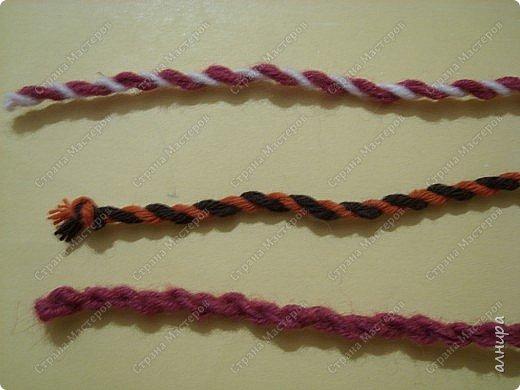 """Такой шнур я делала по книге Н.Чурзиной """"Мягкая игрушка"""". фото 1"""