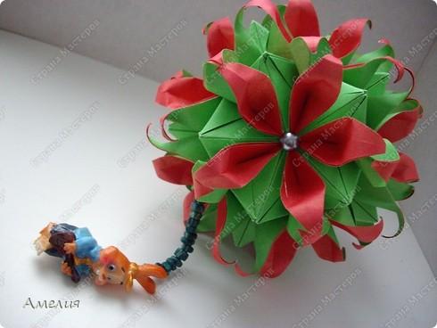 Кусудама Passiflora фото 4