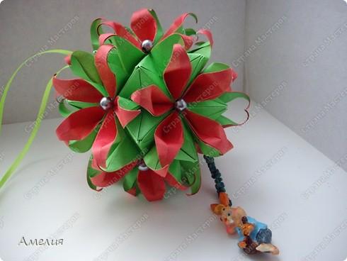 Кусудама Passiflora фото 5