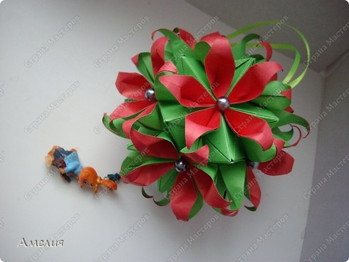 Кусудама Passiflora фото 6