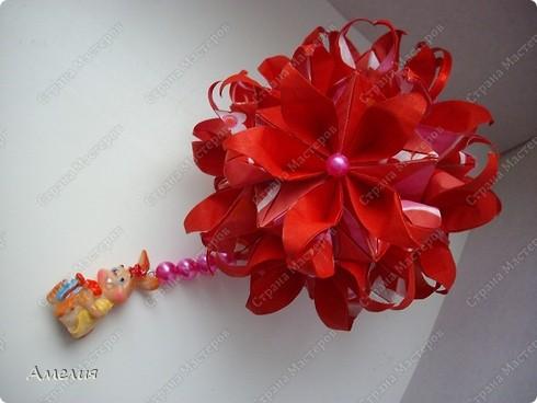 Кусудама Passiflora фото 1