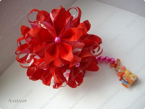 Кусудама Passiflora фото 2