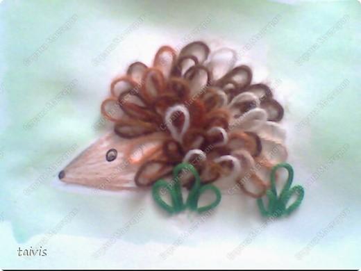 Рисуем петельками. фото 2