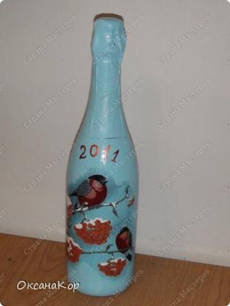 Бутылочки к Новому году. фото 3