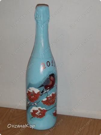 Бутылочки к Новому году. фото 4