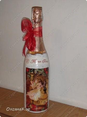 Бутылочки к Новому году. фото 11