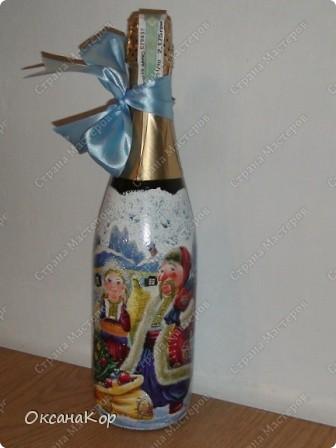 Бутылочки к Новому году. фото 6