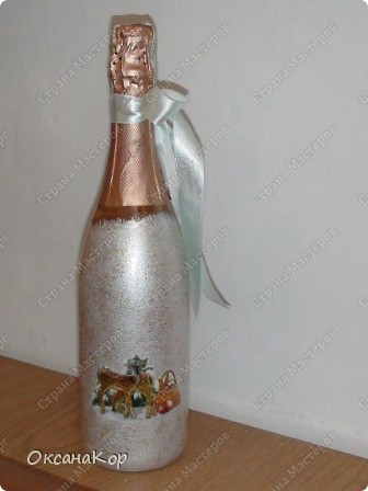 Бутылочки к Новому году. фото 10