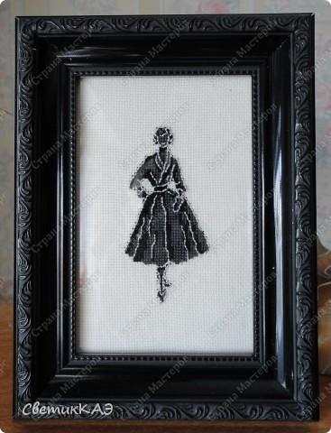 Картина панно рисунок Вышивка крестом Вышивки Ретро Канва Нитки фото 1.