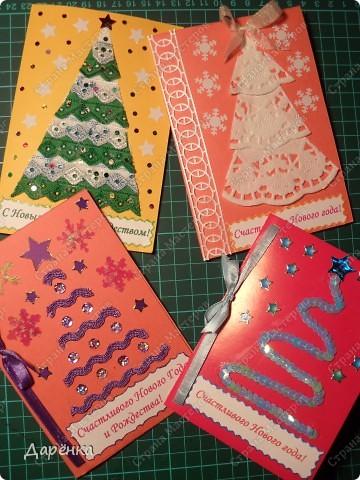 Ещё 4 открытки к Рождеству. фото 1