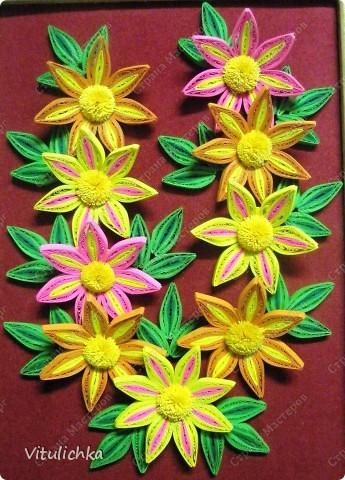 Цветочки-огонечки фото 5