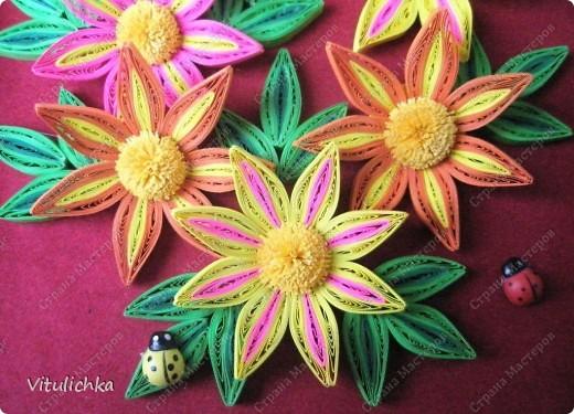 Цветочки-огонечки фото 6