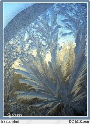 На создание этой работы меня вдохновила необычная шестигранная форма баночки из-под джема и... многочисленные причудливые морозные узоры на стеклах дома моей бабушки.  В итоге родилась вот такая насыпушка - на каждой грани фрагменты разных морозных узоров))  фото 8