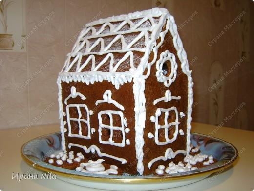 Такой домик получился вид со всех сторон. фото 1