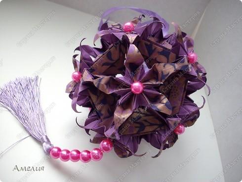 Кусудама Spides floral фото 1
