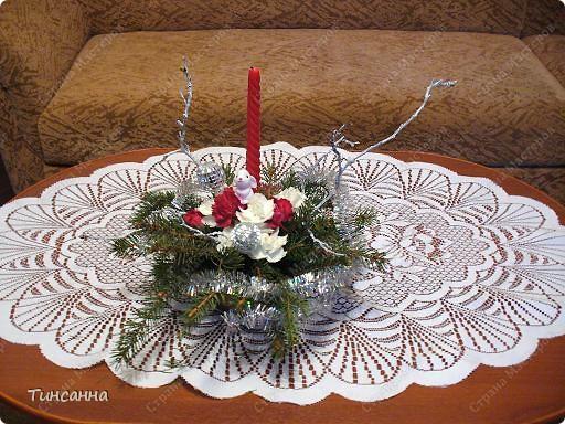 Такие, уже  лопнувшие почки, появились на ветках, использованных в новогодней композиции. фото 3