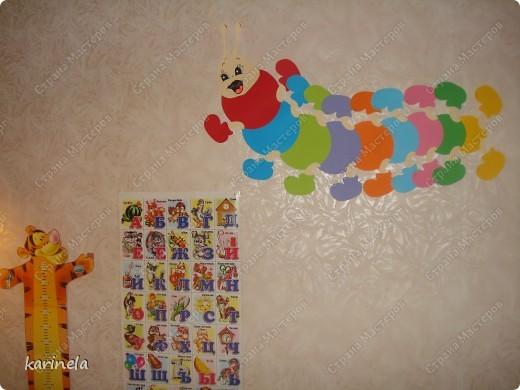 А вот и наше пополнение в Максимкиной комнате.  Огромное спасибо super light77 за идею и шаблоны! фото 3