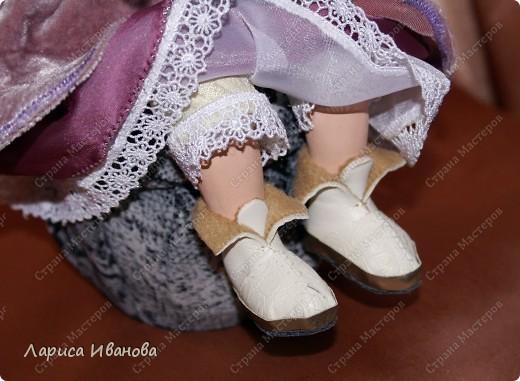 """Вот и у меня""""родилась"""" первая куколка))) Ура!!! Делала ее долго, но она того стоила))) фото 5"""