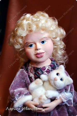 """Вот и у меня""""родилась"""" первая куколка))) Ура!!! Делала ее долго, но она того стоила))) фото 1"""