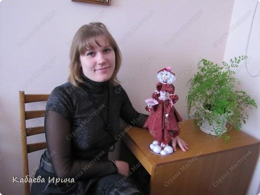 Рост этой куколки 40 сантиметров. фото 6