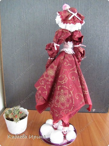 Рост этой куколки 40 сантиметров. фото 5