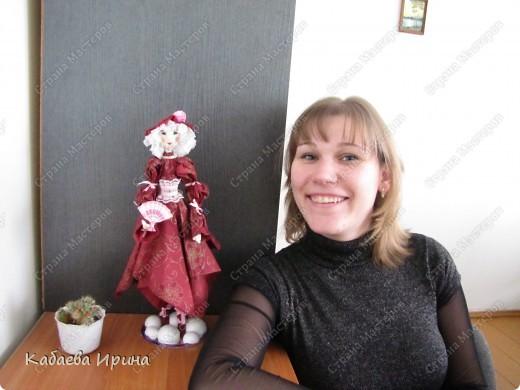 Рост этой куколки 40 сантиметров. фото 7