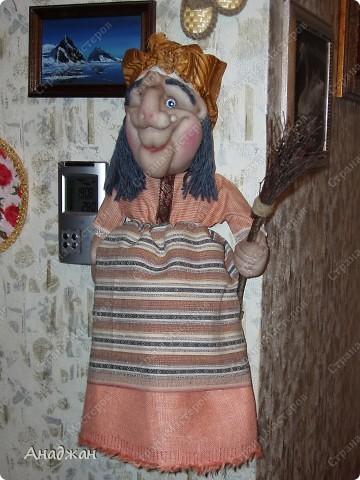 Бабулечка Ягулечка, пакетница родилась благодаря Мк Ликмы.  фото 2