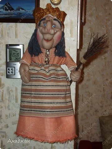 Бабулечка Ягулечка, пакетница родилась благодаря Мк Ликмы.  фото 1