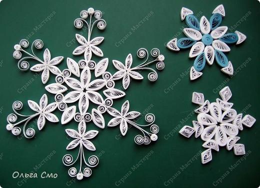 Сделала много разных снежинок, спасибо мастерицам за идеи и Татьяне Николаевне за МК http://stranamasterov.ru/node/3419?tid=451%2C587  фото 1