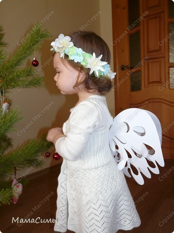 Крылышки ангелочка своими руками