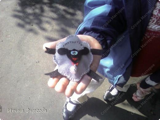 Игрушки из фетра фото 6