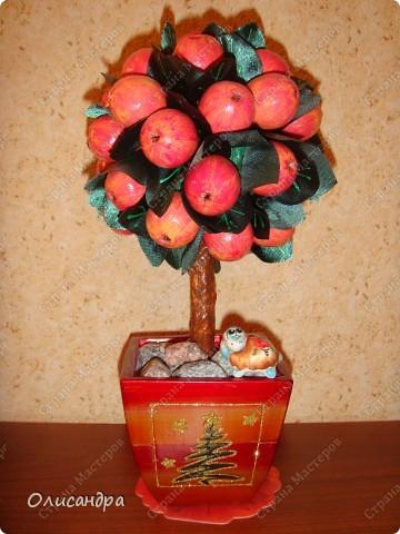 Как сделать дерево с яблоками 22