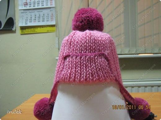 Пока до самой хозяки шапочки не доехала, сделала снимок в возможных условиях;) фото 1