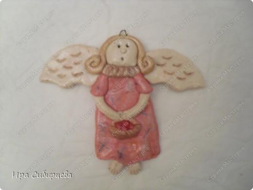 Ангел для рождественского венка:)