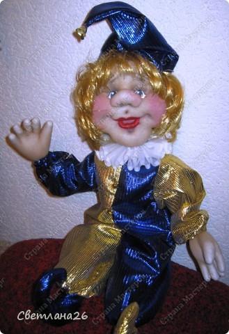 Сегодня доделала очередную куклу, которая должна стать частью интерьера детской комнаты. Параллельно сфотографировала процесс создания каркаса для куклы, правда, не с самого начала, но я думаю, что будет понятно. фото 1