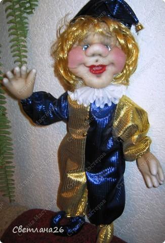 Сегодня доделала очередную куклу, которая должна стать частью интерьера детской комнаты. Параллельно сфотографировала процесс создания каркаса для куклы, правда, не с самого начала, но я думаю, что будет понятно. фото 4
