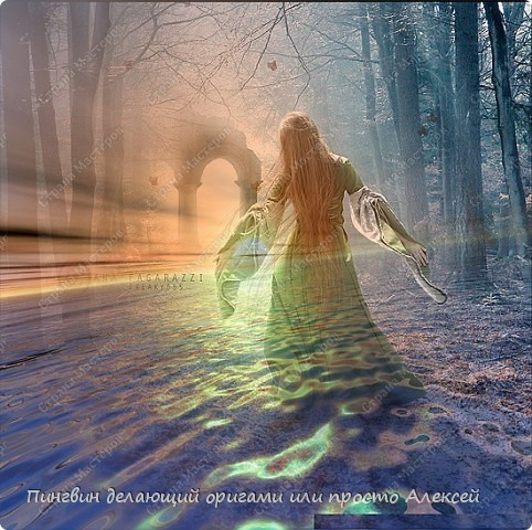 Девушка на воде. фото 1