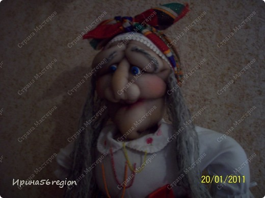 Бабуля Ягуля по МК от Ликмы) фото 3