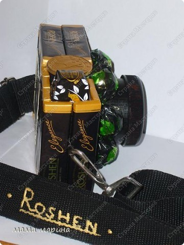 """фотоаппарат из конфет """" Поиск мастер классов, поделок своими руками и рукоделия на SearchMasterclass.Net"""